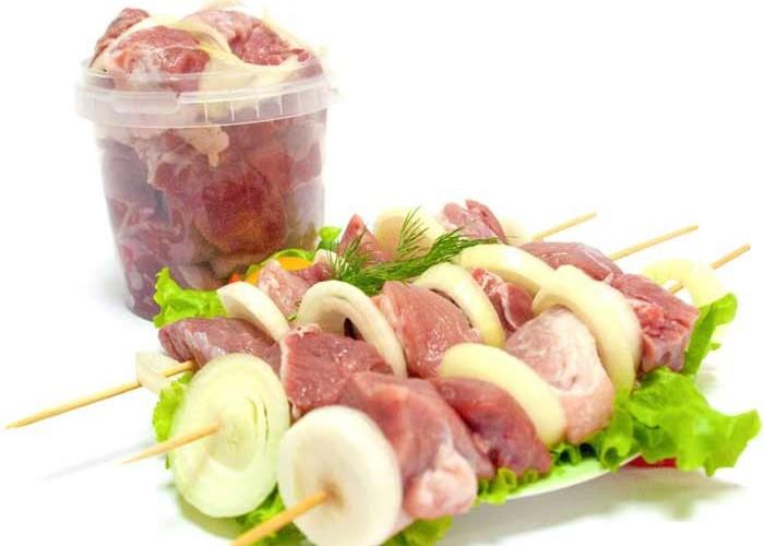 Шашлык из свинины охлажденный
