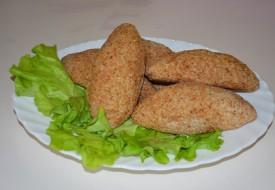 Зразы куриные с печенью