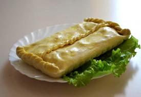 Пироги из слоеного теста